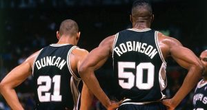 The Twin Towers - Fernando Medina/NBAE/Getty Images