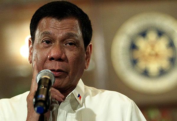 President Rodrigo Duterte's First 100 days in office.  Photo by Philstar.com